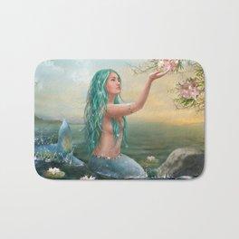 Marine Mermaid Bath Mat