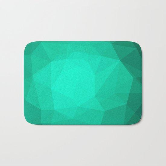 Geometric Polygonal Pattern 01 Bath Mat