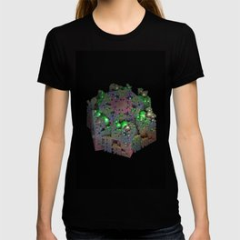 Bubbles and Boxes T-shirt