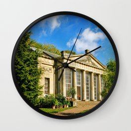 Temple Greenhouse (V2 Texture) Wall Clock