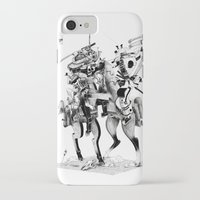 samurai iPhone & iPod Cases featuring Samurai! by HELLLOJOJO