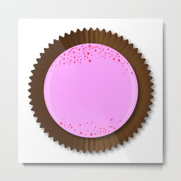 Chocolate Box Strawberry Metal Print