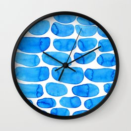 Watercolour abstract Wall Clock
