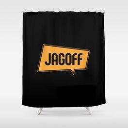 Jagoff Shower Curtain