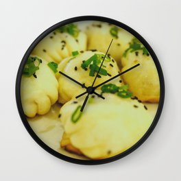 Osaka Dumplings Wall Clock