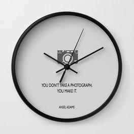 Make a photograph Wall Clock