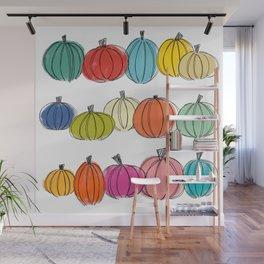 Pumpkin Patch Wall Mural