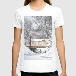 Winter Footbridge T-shirt