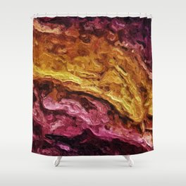 Fatty Veal Shower Curtain