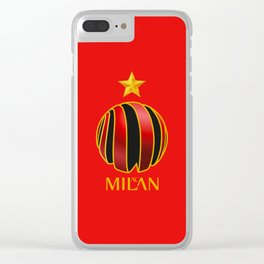 AC MILAN Clear iPhone Case