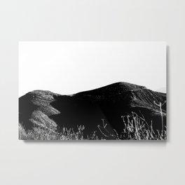 Through the Hills Metal Print
