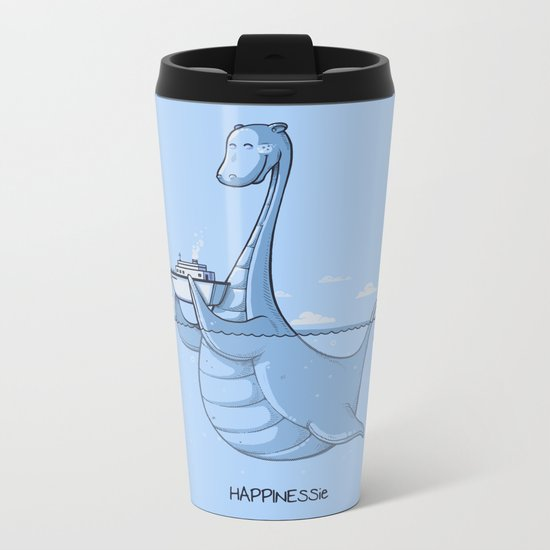 HAPPINESSie Metal Travel Mug