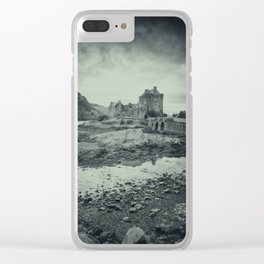 The Dark Castle Clear iPhone Case