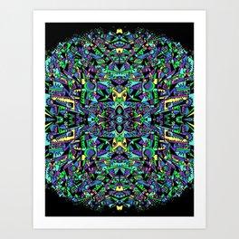 GEO-FRACTALS Art Print