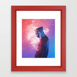 Roken Framed Art Print