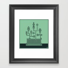Planticular Robotic Framed Art Print