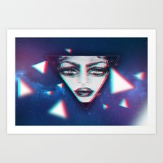 dimensional snap Art Print