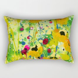 Deep In The meadow by Kathy Morton Stanion Rectangular Pillow