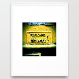 backward & forwards Framed Art Print