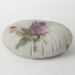 Single Dry Rose Floor Pillow