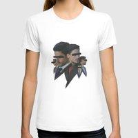 shark T-shirts featuring Shark by fabiotir
