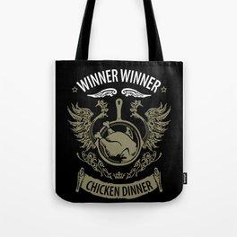 Winner winner chicken dinner pubg Tote Bag