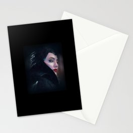 Maleficent in Oil / Sleeping Beauty Stationery Cards