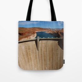 Glen Canyon Dam and Lake Powell Tote Bag