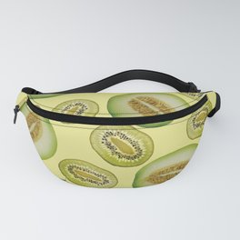 Kiwi - Honey Melon pattern yellow Fanny Pack