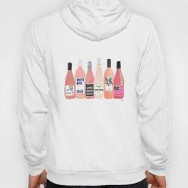 Rose Wine Bottles Hoody