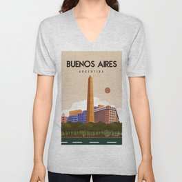 Argentina Buenos aires Unisex V-Neck