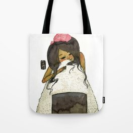 Onigiri Girl Tote Bag