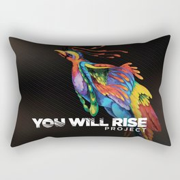 The Phoenix   You Will Rise Rectangular Pillow