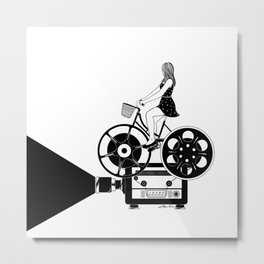 Cinema Paradiso Metal Print