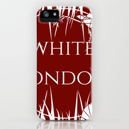White London iPhone Case