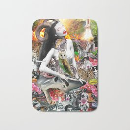 Jungle Melodrama Bath Mat