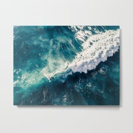 Viceral Surfer Metal Print