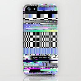 Glitch Ver.2 iPhone Case