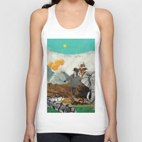 bali Tank Tops featuring Bali and elephant  by HURLUdesign