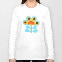 swedish Long Sleeve T-shirts featuring swedish flowers by Wee Jock