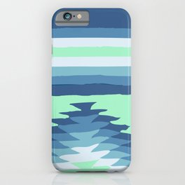MINT SURF GIRL iPhone Case
