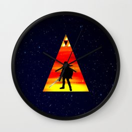 LEGEND OF ZELDA TRIANGLE Wall Clock