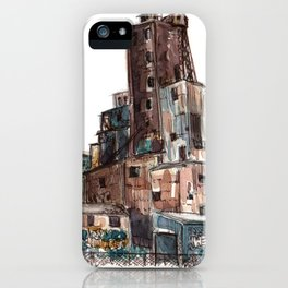 Canadian Malting Factory iPhone Case
