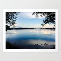Minnesota Summers Art Print