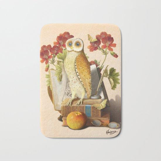 Apprentice Owl Bath Mat