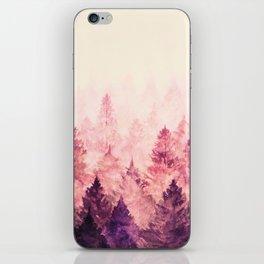 Fade Away III iPhone Skin