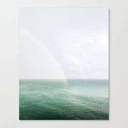 Rainbow in the Sea Canvas Print