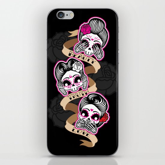Wise Skulls iPhone & iPod Skin