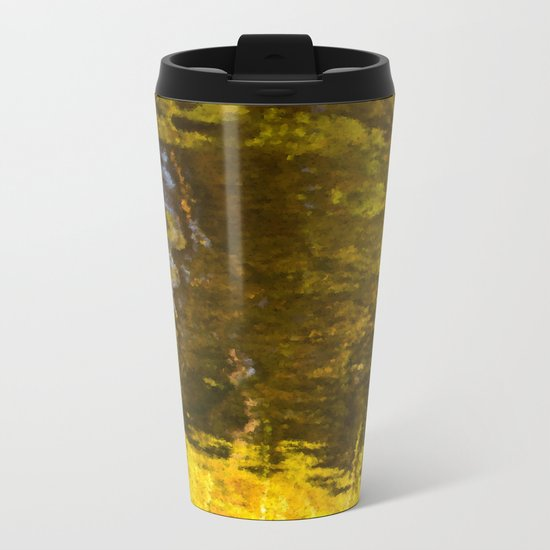 Abstract reflection I Metal Travel Mug