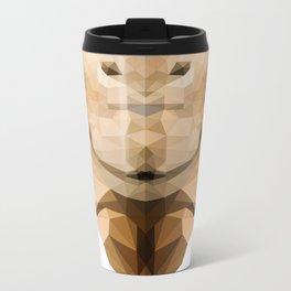 Camel Metal Travel Mug
